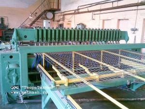 Станок для сварки армировочных сеток и каркасов МАСК-2500-1